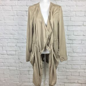 NWT Anthropologie Hei Hei Morgan Trench Jacket L